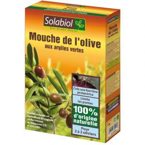 Solabiol Mouche de l'olive aux argiles vertes - 100% naturel