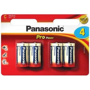 Panasonic Pile LR14 C x4 PRO POWER