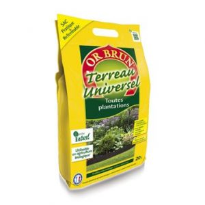 Or Brun Terreau universel bio pratique 20L