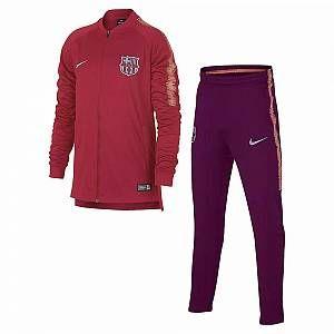 Nike Survêtement de football FC Barcelona Dri-FIT Squad pour Homme - Rose - Taille S