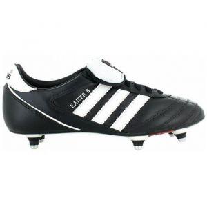 Adidas Kaiser 5 Cup, Chaussures de football homme -Noir (Noir/Blanc/Rouge), 39 1/3 EU