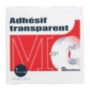 Majuscule 62871BUSINES - Rouleau adhésif transparent (19 mm x 33 m)