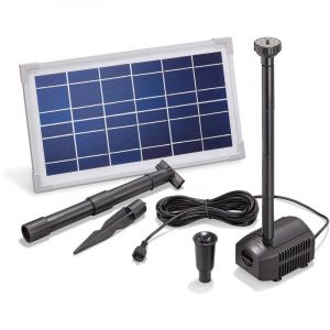 Esotec Kit pompe solaire bassin Fountain Pro 380L-8W
