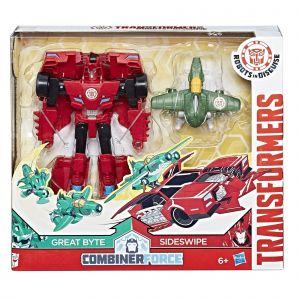 Hasbro Figurine Activator Combiners Transformers Robots In Disguise Sideswipe et Great Byte
