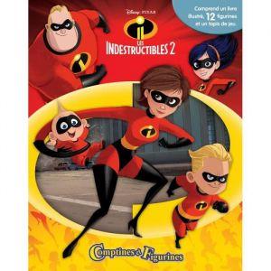 Editions Phidal Comptines & Figurines Disney Les Indestructibles 2