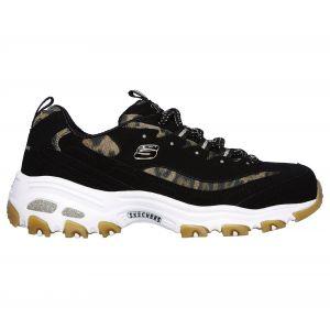 Skechers Chaussures D Lites Leopard bleu - Taille 37,38,39,40