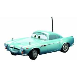 Dickie Toys Voiture télécommandée Cars Finn McMissile 1:24