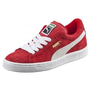 Puma Chaussures enfant Suede Junior rouge - Taille 28,29