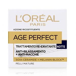 L'Oréal Age Perfect Trattamento Re-idratante Notte Pelli Mature - 50 ml