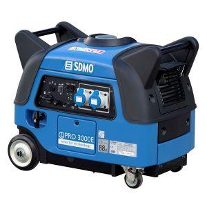 SDMO Groupe électrogène monophasé portable Inverter pro 3000 E PrIndus 3000 W