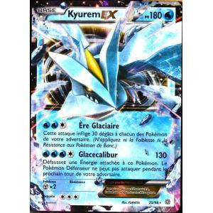 Asmodée Kyurem Ex - Carte Pokémon 25/98 Ultra Rare Xy Origines Antiques