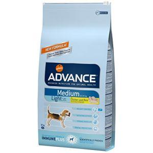 Advance Croquettes chien Medium Light - Sac 12 kg