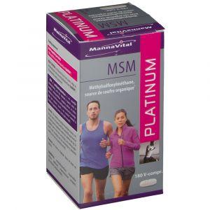 MannaVital Platinum MSM - 180 comp