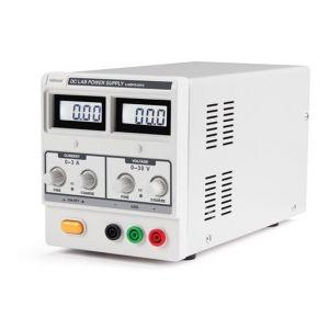 Velleman ALIMENTATION DC LAB 0-30 VCC / 0-3 A MAX AVEC DOUBLE ECRAN LCD - LABPS3003