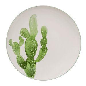 Bloomingville Assiette Cactus Jade - 25cm