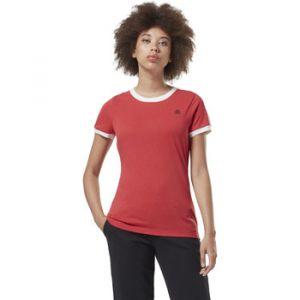 Reebok T-shirt Sport T-shirt avec logo linéaire Training Essentials rouge - Taille EU XXL,EU S,EU M,EU L,EU XL,EU XS