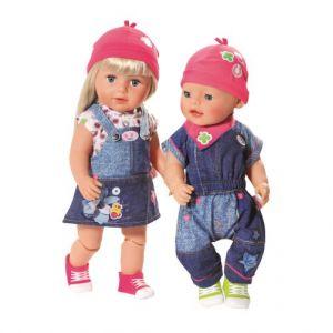 Splash Toys Poupée Jeans deluxe collection Baby Born Modèle aléatoire