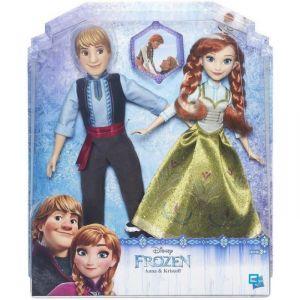 Hasbro Poupées Anna & Kristoff La Reine Des Neiges