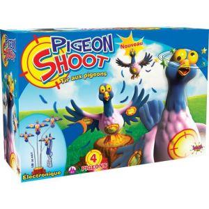 Splash Toys SH-TOYS Jeu de tir aux pigeons électronique - 4 cibles