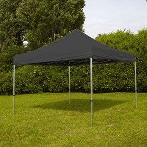 MobEventPro Tente de réception pliante 3x4,5m 300g/m² 40mm Grise