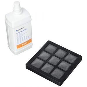 Geberit Lot 2 filtres à charbon + 2 liquides de nettoyage buse AquaClean8000