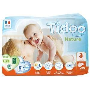 Tidoo 35 couches Night & Day Midi taille 3 (4-9 kg)