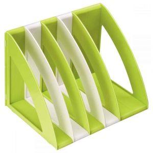 CEP Office Solutions Jeu de 6 verticaliseur anis et blanc