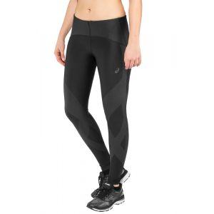 Asics Finish Advantage 2 - Pantalon running Femme - noir S Collants & Shorts Running