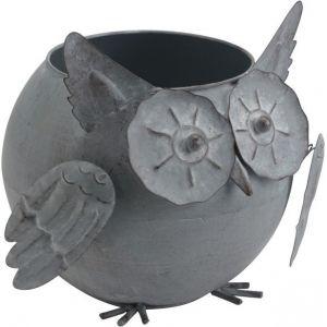 Amadeus Pot hiboux gris