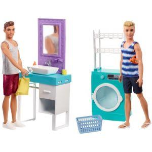Mattel Barbie - Ken et son mobilier
