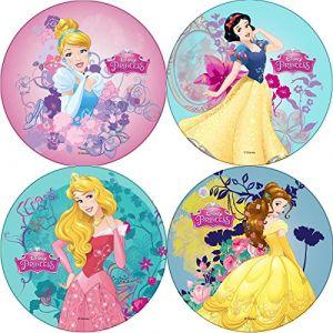 Disque azyme Disney Princesses 21 cm (modèle aléatoire)