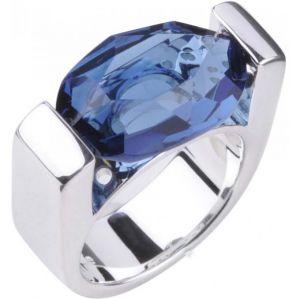 Clio blue Bague BA0551B - Bague Intemporels Argent Bleu Femme