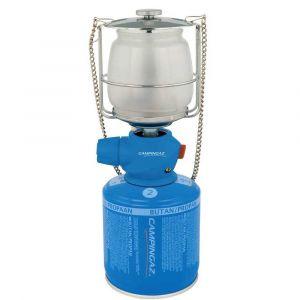 Campingaz Lumostar Plus PZ, lampe de camping, lanterne à gaz à fonction Easy-Click-Plus pour le changement facile des cartouches, luminosité réglable en continu
