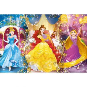 Clementoni Princesses Disney - Puzzle 104 pièces