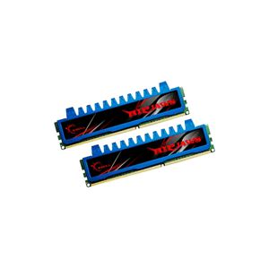 G.Skill F3-10666CL8D-4GBRM - Barrettes mémoire Ripjaws 2 x 2 Go DDR3 1333 MHz CL8 Dimm 240 broches