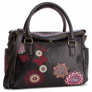 Desigual Embroidered Bag Chandy Loverty negro (19SAXPBB-2000)