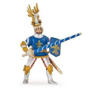 Papo 39788 - Chevalier bleu Fleur de Lys