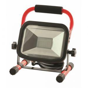 Luceco Projecteur de chantier à LED 22 W 1800 Lm 5000 K rallonge 2 m