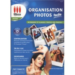 Organisation Photos Facile pour Windows