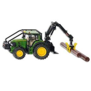 Siku 4063 - Tracteur Forestier John Deere - Echelle 1/32