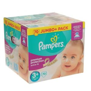 Pampers Active Fit T3 - 70 couches