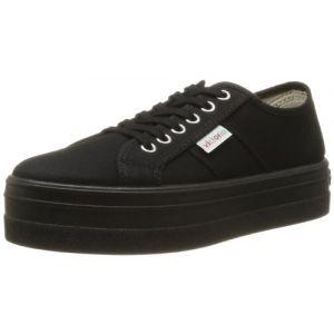 Victoria Basket Lona Plataf. Negra, Sneakers Basses mixte adulte, Noir (10 Negro), 41 EU