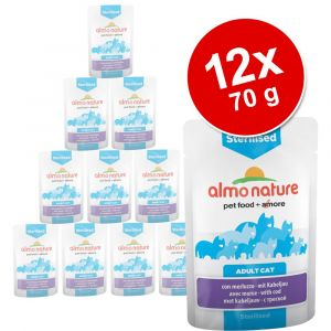Almo Nature Sensitive poulet 70 g (sachets)