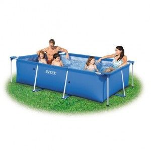 Intex 28272NP - Piscine hors sol rectangulaire 300x200x75xcm