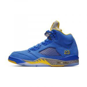 info for 5ba14 28e8f Nike Chaussure Air Jordan 5 Laney JSP pour Homme - Bleu - Couleur Bleu -  Taille