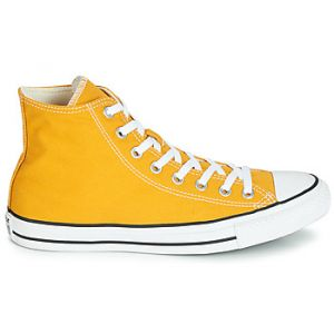 Converse Chaussures CHUCK TAYLOR ALL STAR SEASONAL COLOR HI jaune - Taille 37,38,39,40,42,43