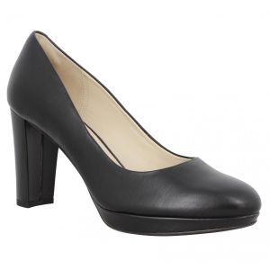 Clarks Kendra Sienna, Escarpins Femme, Noir (Black Leather), 37 EU