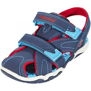 Image de Timberland Adventure Seeker CT, Sandales Garçon Bleu (Navy with Red and Blue) 26 EU (Taille Fabricant 8.5 UK)