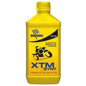 Bardahl Huile moteur pour moto 4 Tps XTM SYNTH 15W50 - 1 L