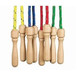 Toys Pure 15157 - Corde à sauter poignée en bois